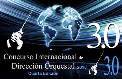 Concurso internacional de Dirección Orquestal 3.0