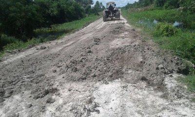 Reparan tramos de ruta ante ausencia de lluvias en el Chaco