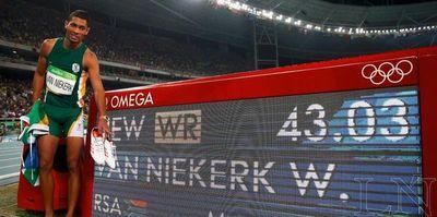 Van Niekerk descarta su regreso a las pistas antes del Mundial-2019