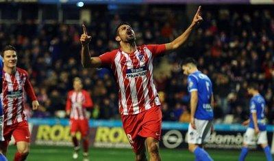 Diego Costa, gol y susto en una victoria contundente del Atlético