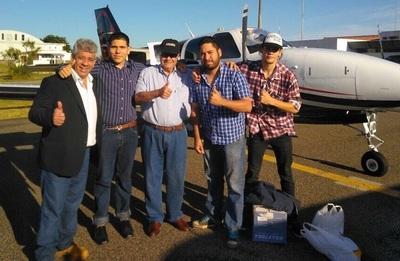 Cuatro liberales refugiados en Uruguay regresan al país