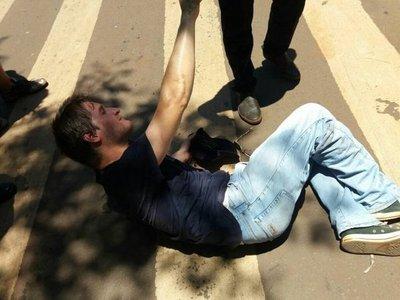 Denuncian agresión contra manifestantes en Ciudad del Este