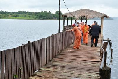 El abandono del Lago del km 8 incentiva ocupaciones