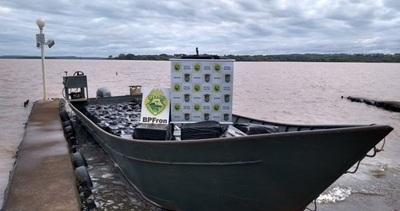 Requisan embarcación de 11 metros en el lago de Itaipu