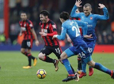 Arsenal cayó ante el humilde Bournemouth