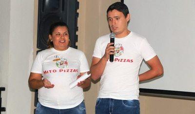 """Jóvenes crean producto turístico """"Mito Pizzas"""""""