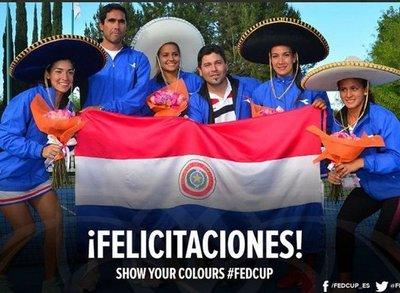 Paraguay conoce a sus rivales de Fed Cup