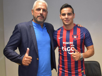 Marcos Acosta, nuevo jugador de Cerro Porteño