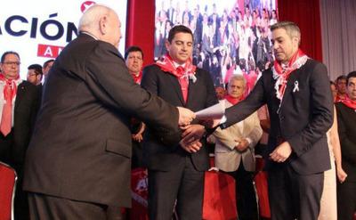 """Marito Abdo  promete """"extirpar""""  a los corruptos"""