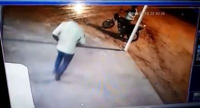 Mortal ataque de motochorros