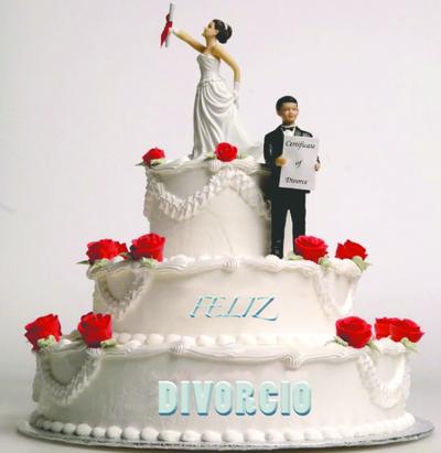 Tiran la casa por la ventana para festejar divorcios