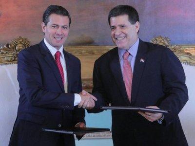 Paraguay y México acuerdan combatir el narcotráfico