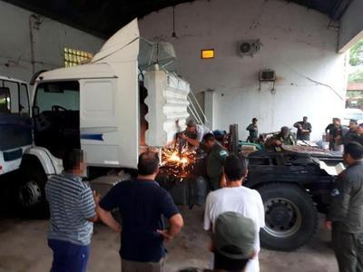"Cae ""in fraganti"" paraguayo que lideraba banda narco en Argentina"