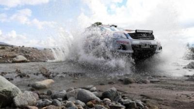 Suspenden etapas del Dakar  por inclemencias climáticas