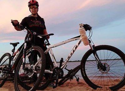 Beneficio: mantené la línea con paseos en bici
