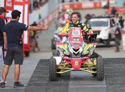 Terminó el Rally Dakar y Sanabria no defraudó