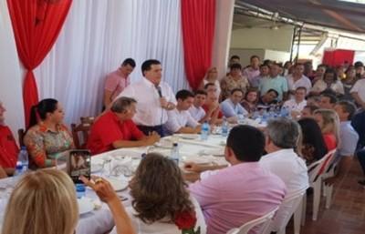 """Cartes instó a votar por """"Marito"""""""