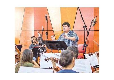 Cuquejo graba  con productor de Ivan Lins y Gal Costa