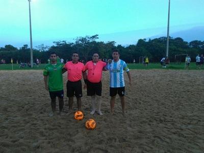 Comenzó eliminatorias de Playa en el Guairá