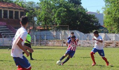 Interligas sub 15: Limpeña sorpendió a Caaguazú
