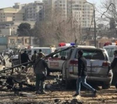 Ambulancia bomba mata a casi un centenar de personas en Kabul