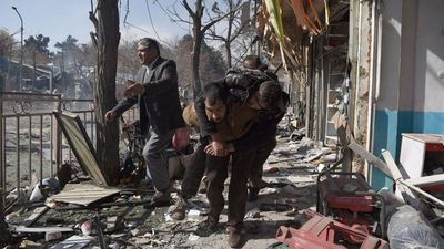 Al menos 95 fallecidos en ofensiva con ambulancia bomba en Kabul