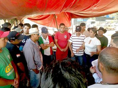 María portillo se reunió con camioneros