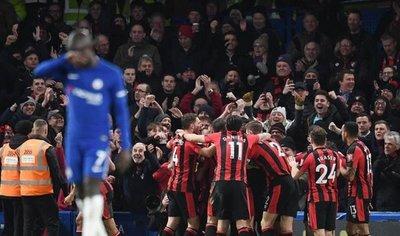 Sonrojante goleada del Bournemouth a un desastroso Chelsea
