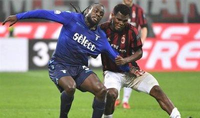 Milan y Lazio empatan en San Siro y se jugarán en Roma el pase a la final