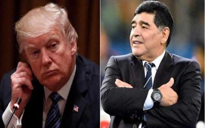 EE.UU volvió a negarle la visa a Maradona por burlarse de Trump