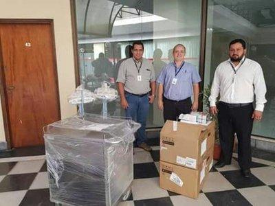 Región Sanitaria de Alto Paraguay recibe nuevos equipos