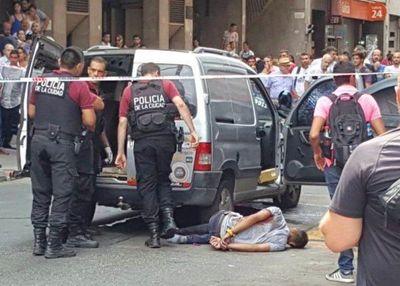 Heridos tras tiroteo en centro de Buenos Aires