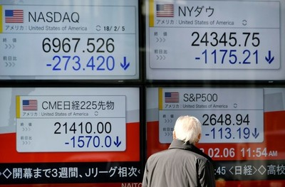 El desplome también arrastró a Tokio y al continente asiático