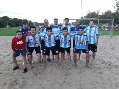 Fútbol Playa: Villarrica y Paso Yobai definen en Guairá