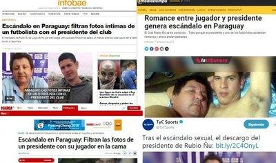 El escándalo sexual del fútbol paraguayo que recorre el mundo