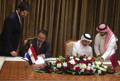 Paraguay y Qatar acuerdan  promocionar inversiones