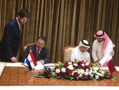 Paraguay acordó inversiones con Catar