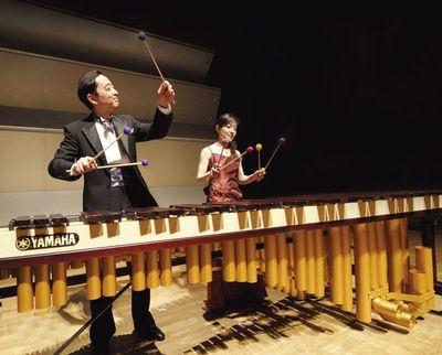 Dúo japonés Marimba Wings se presentará con la OSN