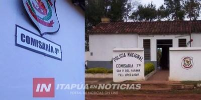 MOVIDAS EN COMISARÍAS DE ITAPÚA