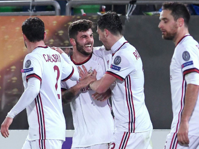 Milan goleó 0-3 al Ludogorets en Bulgaria