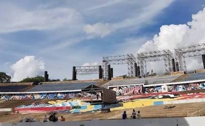 El Anfiteatro de San Bernardino se prepara para el Festival Reciclarte