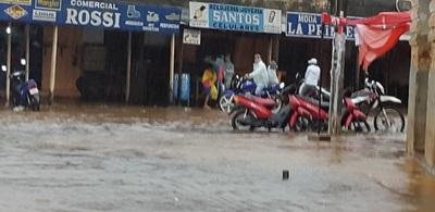 Concepción sufre otra inundación por lluvia