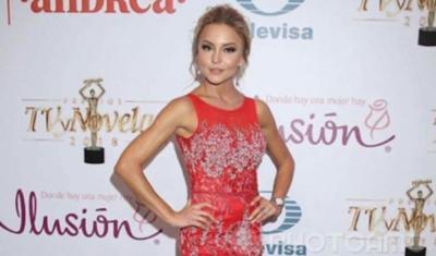 """Angelique Boyer luce diseño paraguayo en los Premios TVyNovelas: """"Fue un honor"""""""