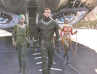 Pantera negra, el segundo mejor estreno de la historia
