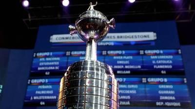 Así quedan los grupos de la Copa Libertadores
