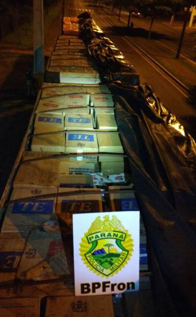 No cesa el contrabando a  gran escala de cigarrillos