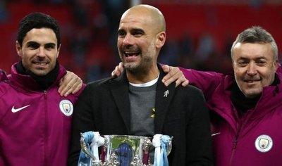 Guardiola conquista primer título con el City un año y ocho meses después