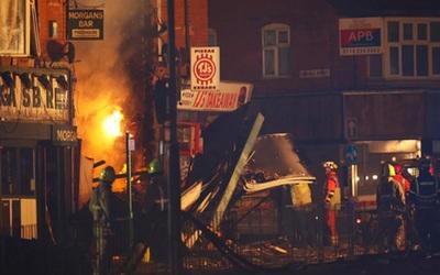 Fuerte explosión en Leicester dejó 4 fallecidos