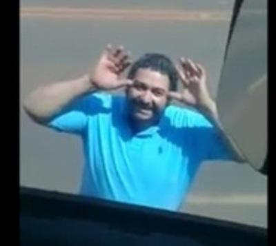 Van tras conductor que disparó contra camión en plena ruta