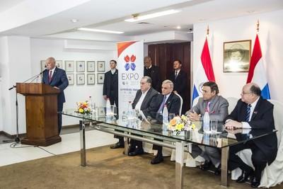 Buscando presencia extranjera, la Expo fue presentada a diplomáticos